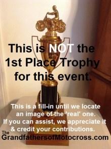 1964 Greenhorn z4 No trophy to show