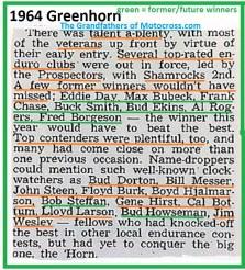1964 Greenhorn z48 Prospectors MC & Shamrocks MC