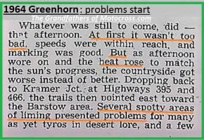 1964 Greenhorn z53 poor lime markings