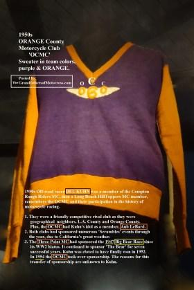 1965 D24 OCMC Orange County MC colors