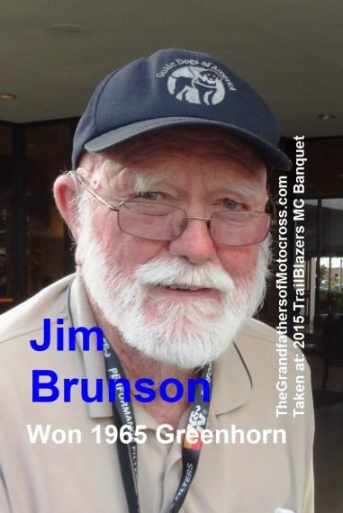 1965 a1 winner Greenhorn Jim Brunson in 2015