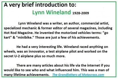 1965 a28 Greenhorn author Lynn Wineland
