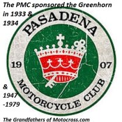 1966 a2 Greenhorn sponsored by Pasadena MC