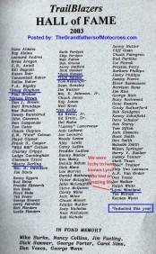 Bio of Lynn Wineland a14 in 2003 Trailblazers Hall of Fame