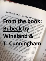Bio of Lynn Wineland a16 Book, BUBECK, by Wineland & T. Cunningham