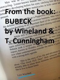 Bio of Lynn Wineland a17 Book, BUBECK, by Wineland & T. Cunningham