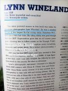 Bio of Lynn Wineland a8b brief from Summers Ago book