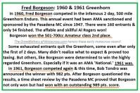 Borgeson 1960 & 1961 Greenhorn