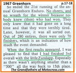 1967 C34 Greenhorn, unknown who won, Ekins thought 3rd