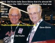 1967 C40 but at 2012 TrailBlazers Old Timers, Del Kuhn & Dave Ekins