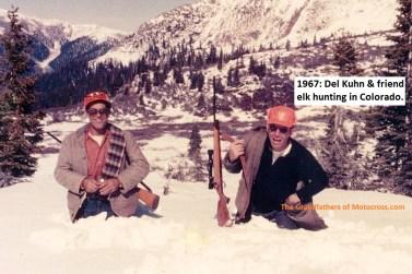 1967 r46 Del Kuhn & friend Elk hunting in Colorado