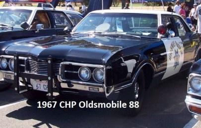 1967 r47 former desert racer Del Kuhn CHP 1967 Oldsmobile 88