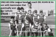 1967 r48 former desert racer Del Kuhn was coaching Little League