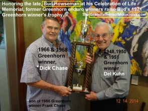 1968 a11 Greenhorn trophy, Dick Chase, Del Kuhn 2014