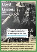 1968 b11 Lloyd Larson, at 63, long time Greenhorn racer