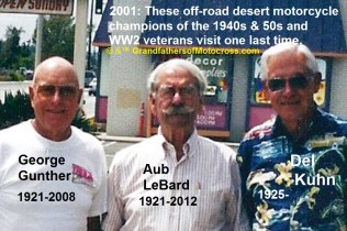 1968 s14 2001 Off Greats George Gunther, Aub LeBarb & Del Kuhn