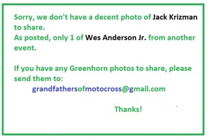 1969 Greenhorn M60 No photo pf Jack Krizman