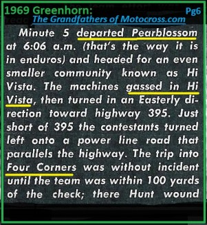 1969 Greenhorn M8a Pearblossom, Hi Vista, Four Corners