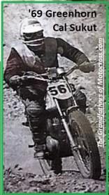 1969 Greenhorn P16 rider Cal Sukut