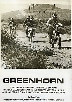 1969 Greenhorn P3 Paul Hunt competes in '69 National