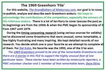 1969 Greenhorn a1 Intro 1969 Greenhorn Files, Kuhn & D. Ekins