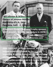 1969 s4 1947-Greenhorn Bill Johnson & Cedar of Johnson Motors