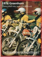 1974 a23a Greenhorn. unknown MC team ready to go