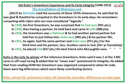 1974 d48b Kuhn comments INTRO PMC Greenhorn integrity