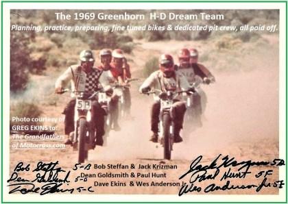 z1969 Greenhorn, HD dream team, thx Greg Ekins