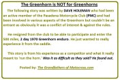 1970 Greenhorn b1 Story by Dave Holeman