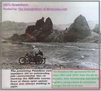 1971 Greenhorn d32b PMC best course