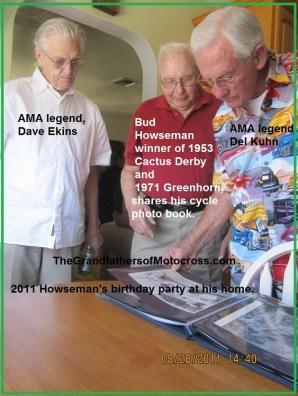 x12 2011 Racing legends, Bud Howseman, Dave Ekins & Del Kuhn