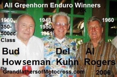 x13 2006 won Greenhorn Al Rogers, Bud Howseman & Del Kuhn