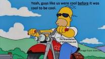x15 Greenhorn, Cool Homer