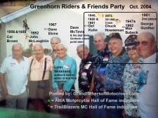 x6 2004 Greenhorn former winners, D. Kuhn, C. Howseman, Bubeck & 2nd Gunther
