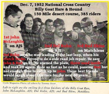 z 1952 12-7 Cant win them all, Kuhn 2nd, Natl. H&H, McLaughlin, Bud Ekins