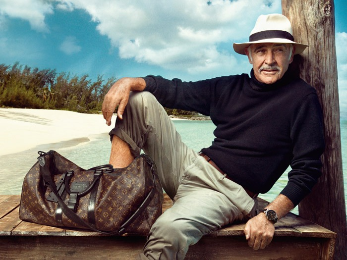 Sean Connery Louis Vuitton