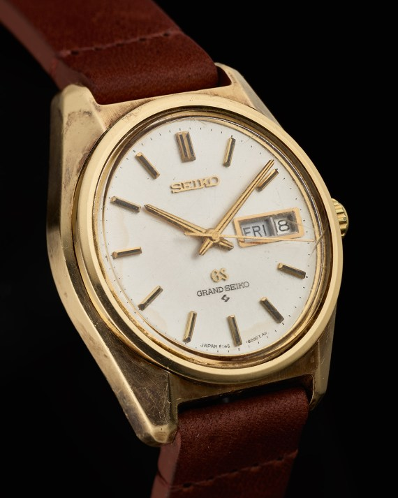 20 – 6146-8000 cap gold Grand Seiko dial