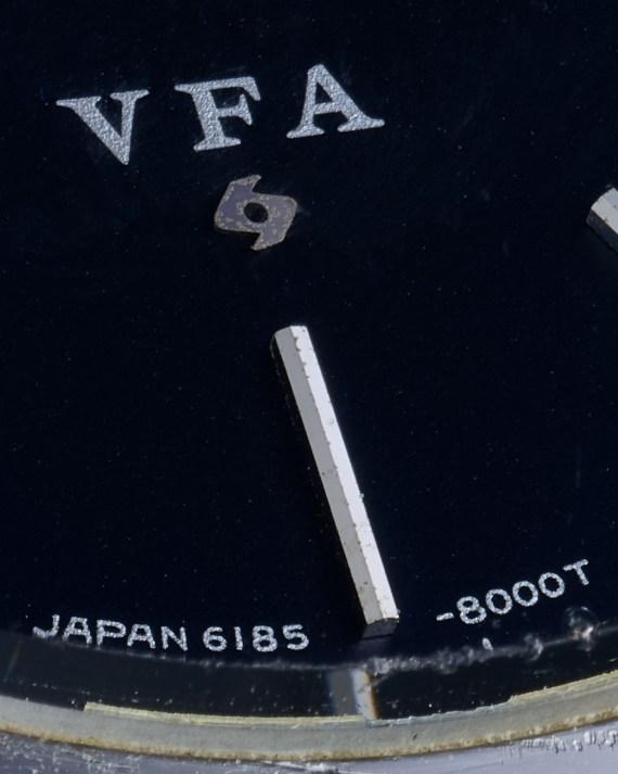 Grand Seiko 6185-8010 VFA detail