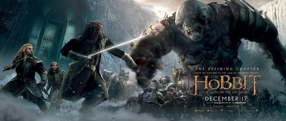 Movie Review The Hobbit The Battle Of The Five Armies 2014 The Grand Shuckett