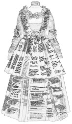 Line Dress - Children's Colouring