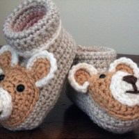 Baby Jacket and Teddy Booties