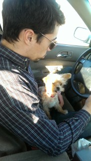 Family Road trip with my cowboy and my little weirdo!