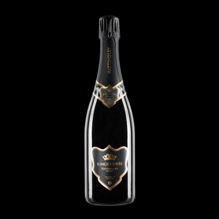 Hattingley Valley Kings Cuvee_black background