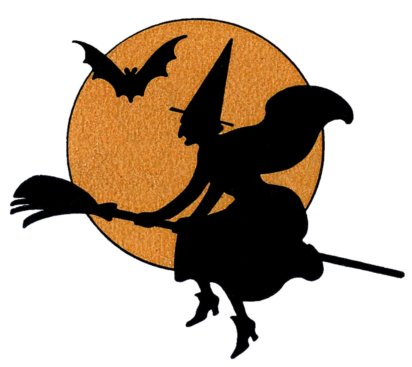 10 Halloween Witches Clipart Updated The Graphics Fairy