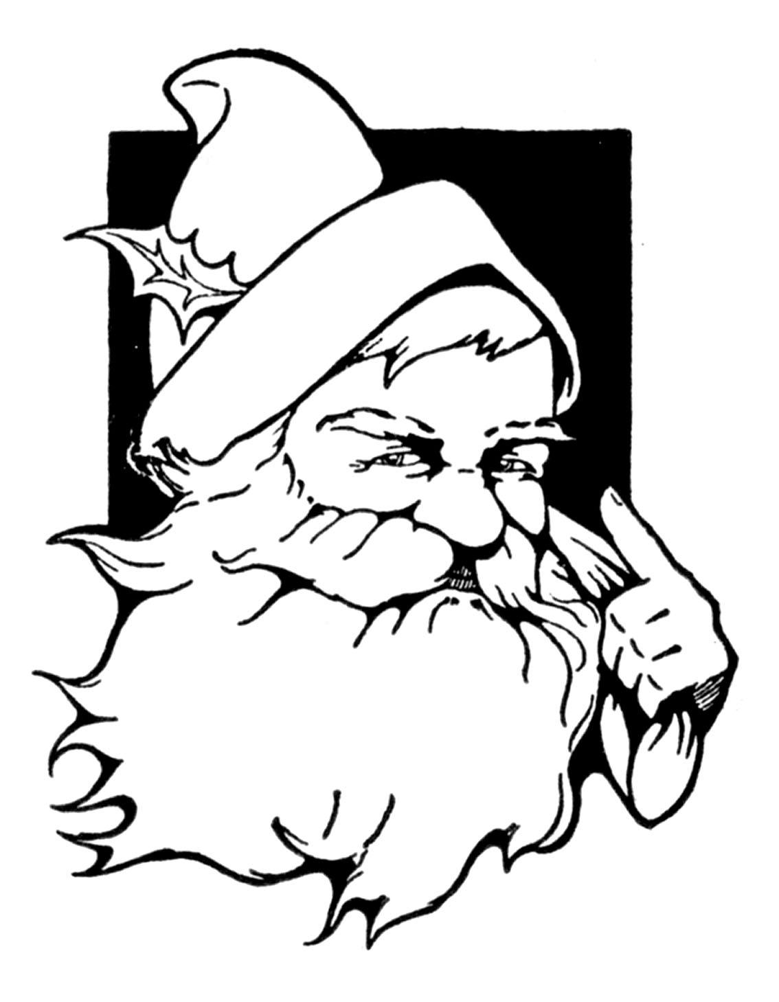 12 Cute Santa Clipart