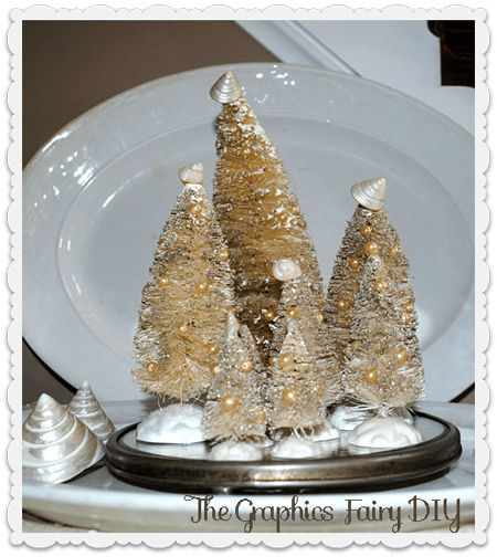 Create Some White Pearly Wire Brush Trees The Graphics Fairy