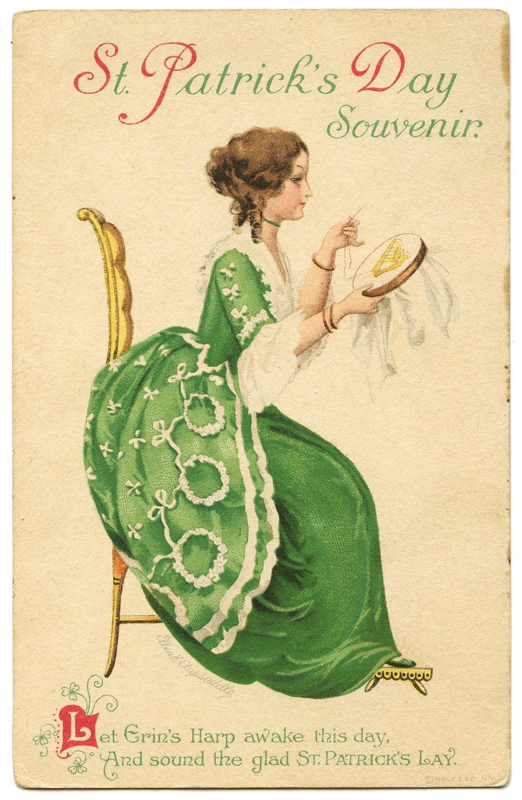 Vintage St Patrick S Day Image