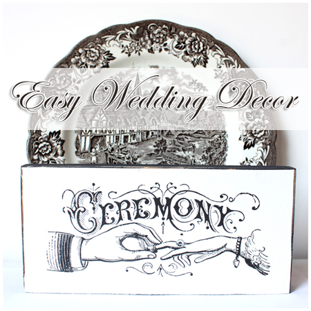 Make Some Cute Typography Wedding Signs The Graphics Fairy