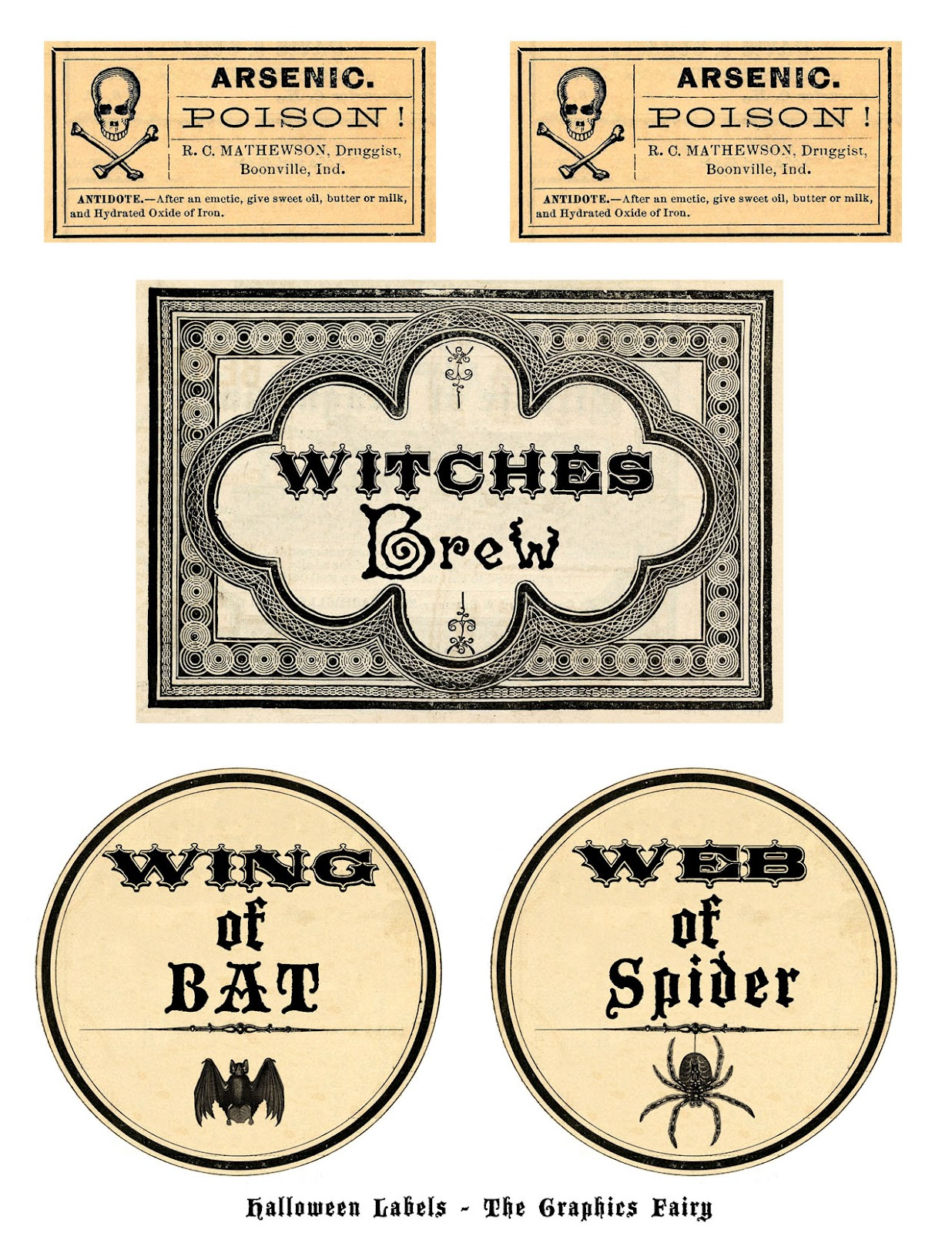 Papercraft Apothecary Jar Labels Tags Amp Ideas